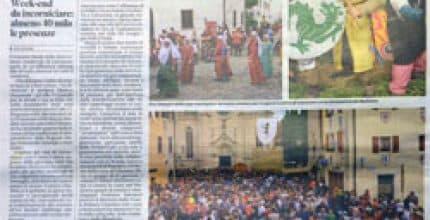 Messaggero Veneto – I più gettonati a Medioevo a Valvasone