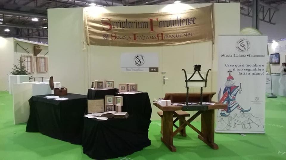 Scriptorium foroiuliense alla fiera dell 39 artigianato for Fiera artigianato milano 2017