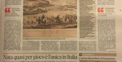Messaggero Veneto – Stampe, editti, proclami. Lo Scriptorium apre il Museo Prefilatelico