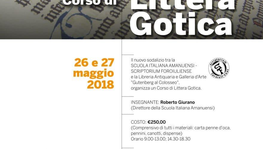 Littera Gotica_corso_Roma