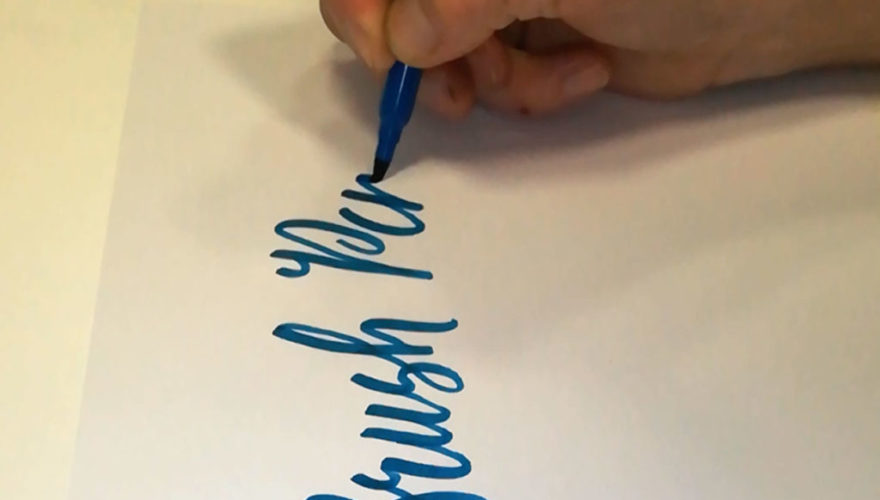 Brush-Pen-da-video